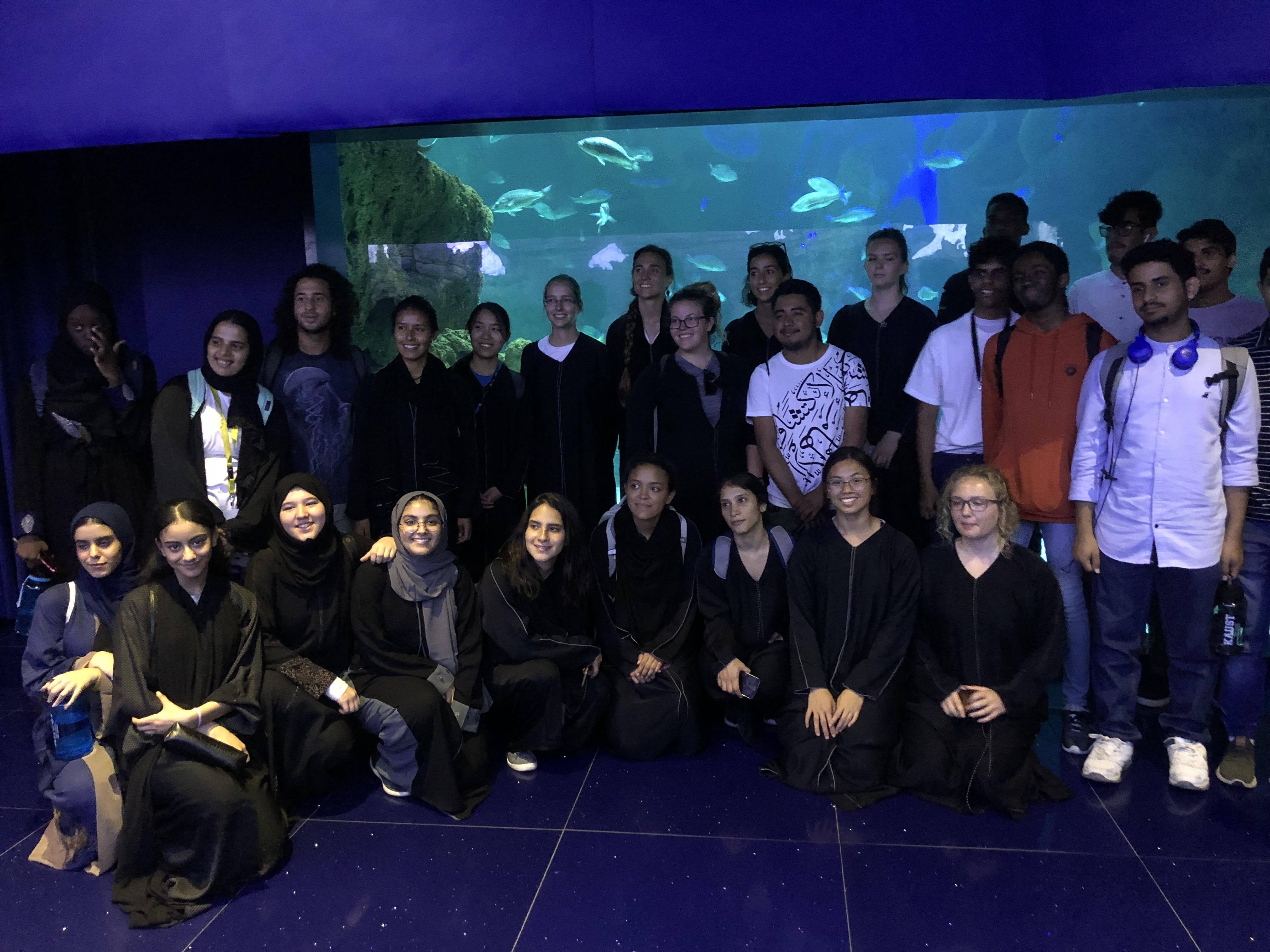 Summer School 2019 - Aquarium Visit